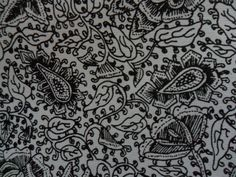 86. Classical batik motif derived from creeping plants: Sembagen. Sembagen comes from sembagi, a term used by the Javanese to designate imported calico. Sembagen= a type of floral ornamented, imported cloth.