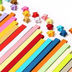 Caydo Double Sided Origami Stars Paper