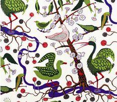 Josef Frank textile. Unique vision, delightful design
