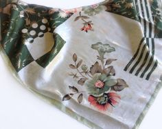Check out Gift for mom, Green Sparky Scarf Cream Head Scarves Gift for Coworker, Birthday Gift Coral silk scarf, Office Neckerchief Chemo Scarves 20 on blingscarves