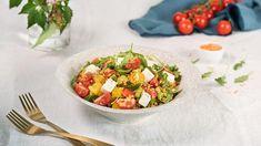 Červená šošovica so syrom feta a bylinkami