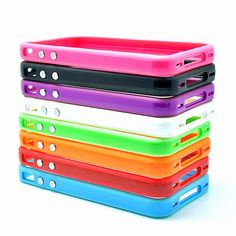 High Quality Multicolor TPU Bumper Frame Case for iPhone 4 Ipad Holder, Tablet Holder, Iphone 4, Iphone Cases, Ipad Accessories, Ipad Stand, Ipad Pro, Frame, Collection