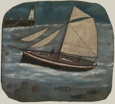 Alfred Wallis - Cornish Cutter