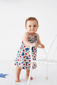 This adorable blue flower print singlet dress from Baobab is made from lightweight organic cotton making it the perfect outfit for your little cutie this summer Girls Jumpers, Burberry Kids, Children's Boutique, Baby Cover, Cute Little Girls, Flower Dresses, Baby Dress, Beautiful Dresses, Cool Style