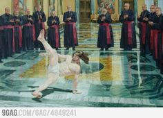 Breakdance Jesus