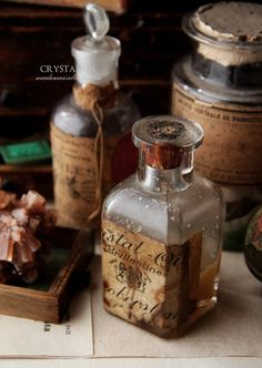 ❥ antique bottle
