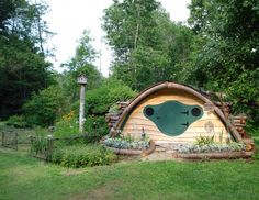 A multipurpose Hobbit Hole that can be used as a playhouse, or a storage shed for gardenin...