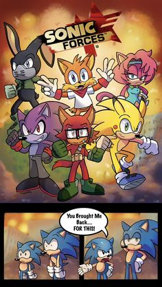 Sonic Forces Custom Heroes XD