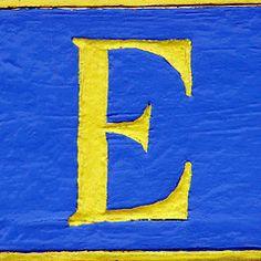 E.....Eva the Weaver.  My grandmother was named Eva!