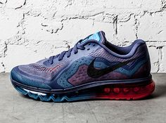 Nike Air Max 2014 – Blue Recall – Light Crimson
