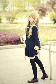 Taiga Cosplay, H Cosplay, Anime Cosplay Girls, Kawaii Cosplay, Cute Cosplay, Amazing Cosplay, Best Cosplay, Charlotte Anime, Good Looking Women