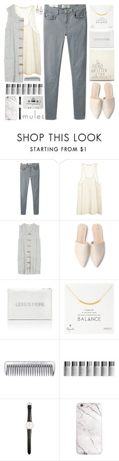 """everything zen"" by sinesnsingularities ❤ liked on Polyvore featuring Acne Studios, Proenza Schouler, Dogeared, Bare Escentuals, Ole Mathiesen, CASSETTE and BaubleBar"