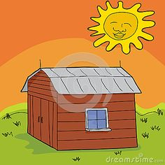 Cartoon Shed Stock Photos, Images, & Pictures – (156 Images)