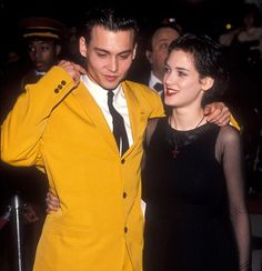 Johnny Depp & Winona Ryder