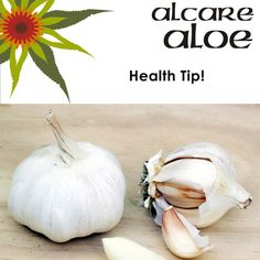 Garlic, onions, spring onions and leeks all contain stuff that's good for you. A study at the Child's Health Institute in Cape Town found that eating raw garlic helped fight serious childhood infections. Heat destroys these properties, so eat yours raw, wash it down with fruit juice or, have it in tablet form. #health #tips #garlic Eating Raw Garlic, Fruit Juice, Natural Oils, Cape Town, Onions, Aloe, Natural Remedies, Health Tips, The Cure