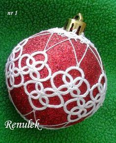 Tatting, Tatting, Chiacchierino: frywolitkowe Christmas balls