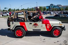 For the man I love who always hums or whistles the Jurassic Park theme when driving our jeep.