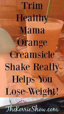 How to Lose Weight Drinking a Yummy Orange Creamsicle Shake Every Day #HealthyLiving #HealthyFoodsToLoseWeight