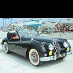 1956 Jaguar XK-140 :: car from Cruel Intentions