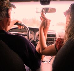 I want to do this. But the problem is........... there! My car is automatic, so this really is doable. I just need a man to hold my hands while on a road trip :)