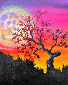 Join us for a Paint Nite event Sat Nov 2017 at 8319 Louise Ave. Purchase your tickets online to reserve a fun night out! Paint And Sip, Painting Gallery, Easy Paintings, Acrylic Art, Tree Art, Painting Inspiration, Painting & Drawing, Watercolor Paintings, Cool Art
