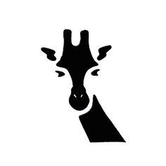 Giraffe Pictogram Series by Mary Dettman at Coroflot.com
