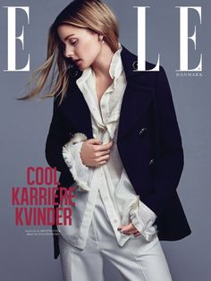 Olivia Palermo on ELLE Denmark September 2016 Cover