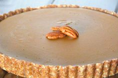 Gluten Free Pumpkin Tart Recipe photo