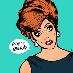 Bianca Del Rio Pop Art by supercheyne on Etsy