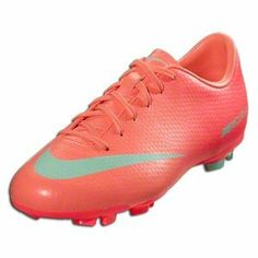Nike Mercurial Victory IV FG Pink Green Ladies Soccer Cleats - Price     70.00 5825bc8fc7a57