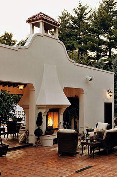 Spanish style homes – Mediterranean Home Decor Hacienda Style Homes, Spanish Style Homes, Spanish House, Spanish Colonial, Spanish Revival, Spanish Exterior, Spanish Courtyard, Spanish Villas, Spanish Architecture