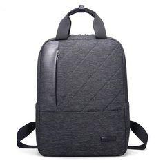 Men's Quality Multifunctional Waterproof Computer Nylon Backpack 3 Colors