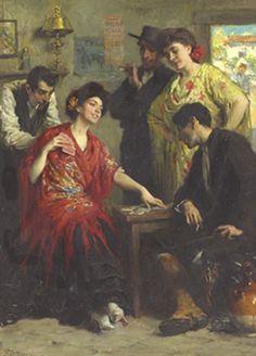 Francis Luis Mora -The Card