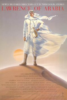 [ LAWRENCE OF ARABIA POSTER ]