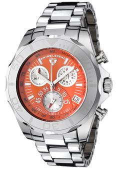 Price:$299.99 #watches SWISS LEGEND T8010-66, With a detailed facade displaying multi-functional subdials, this Swiss Legend Tungsten Pro chronograph is style built with precision.