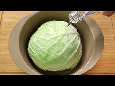 (9) 양배추를 이렇게 만들었더니 고기처럼 맛있어요! 순식간에 양배추 한 통이 사라져요 Cabbage Recipe - YouTube Cabbage Recipes, Onion Recipes, Fruit Recipes, Easy Healthy Recipes, Vegetable Recipes, Vegetarian Recipes, Cooking Recipes, Cauliflower Cabbage Recipe, Fried Cabbage