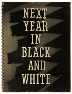 Next Year In Black and White exhibitor book, 1936-37 // RKO Pictures