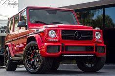 Mercedes-Benz G 63 AMG RENNtech Project Vulcano