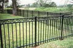 Image result for Ornamental Fencing Iron Rod