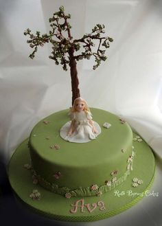 First Holy Communion cake for Ava