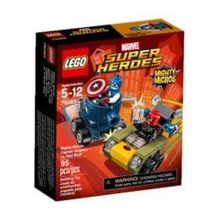 LEGO Super Heroes Mighty Micros Captain America vs Red S 76065 >>> Click image to review more details.