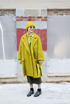 1 Girl, 4 Looks: Monling Lee Is A Colorblocking Champ #refinery29