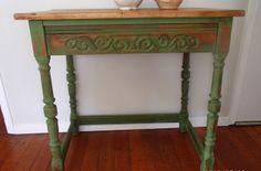 D.D.'s Cottage and Design: Boxwood Farm desk/table