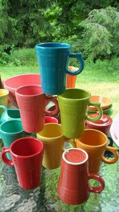 We're collecting these Fiestaware latte mugs from Kohls