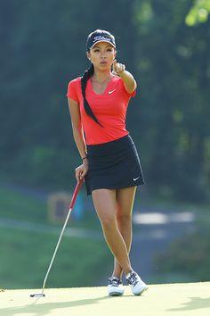 Incredible Stylish Women's Golf Clothing Ideas. Ravishing Stylish Women's Golf Clothing Ideas. Girl Golf Outfit, Cute Golf Outfit, Girls Golf, Ladies Golf, Kids Girls, Sexy Golf, Tennis Fashion, Mens Golf Fashion, Golf Pants