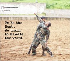 To Be the Best  We train to handle the worst #http://IndianArmypic.twitter.com/p3a2QM32Ia #IndianArmy #Army