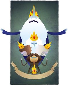 Poor Ice King, Adventure Time