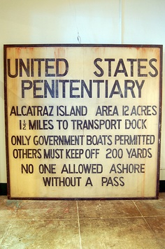 Alcatraz. There is a show called Alcatraz. It's very interesting! People watch it so it can keep going :)