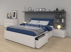 trendy bedroom furniture for couples beds Rustic Living Room Furniture, Bedroom Furniture, Furniture Design, Bedroom Decor, Bedroom Closet Design, Modern Bedroom Design, Bed Designs With Storage, Couple Bed, Deco Design