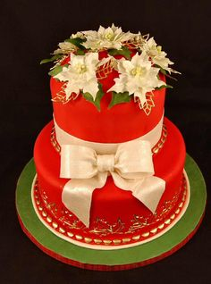 Christmas Cake 1	#Bkam #Christmas #Gifts #cakes